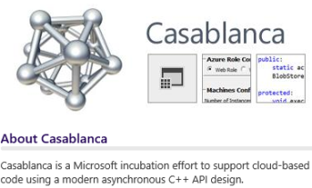 C++ Libraries: Casablanca – Sutter's Mill